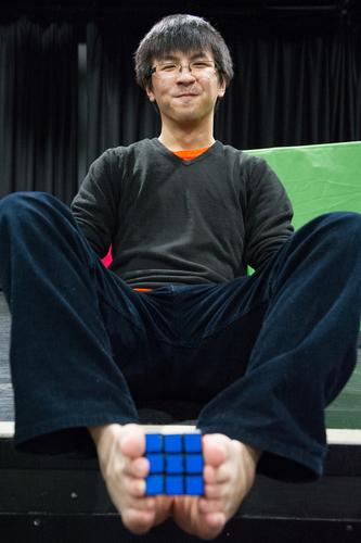 Robert Yau and Rubik's Cube
