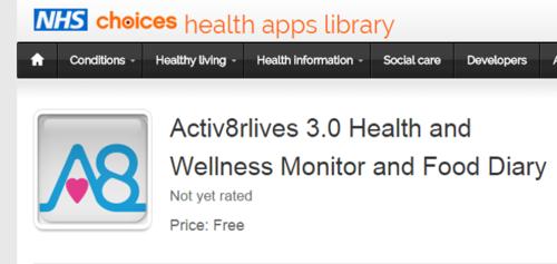 Activ8rlives Health & Wellness App