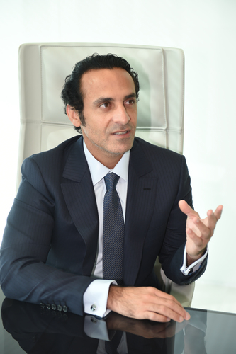 Khadem Al Qubaisi, former head of Aabar
