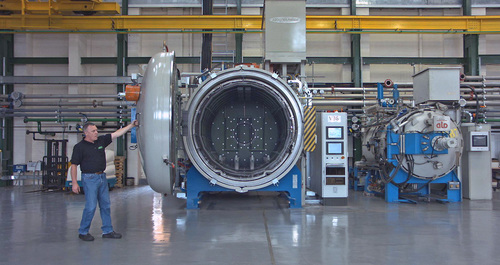 Wallwork - one of the largest vacuum furnaces in t