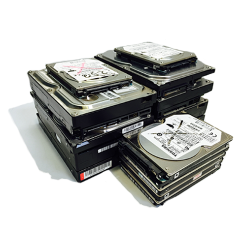 Hard drive and other data destruction