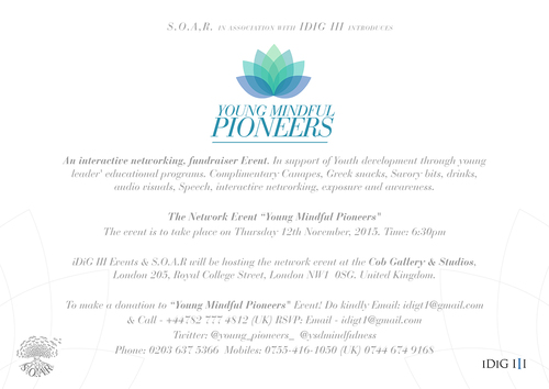 Invitation and press release w/logo