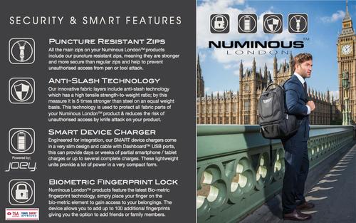 Numinous London SMART Executive backpack