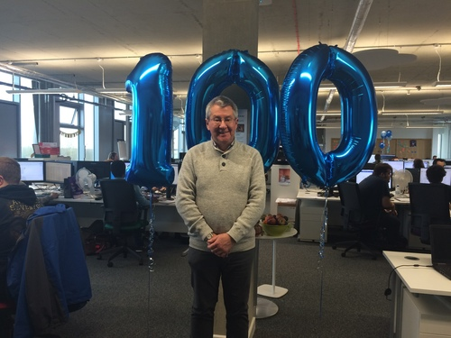 100th Member of staff