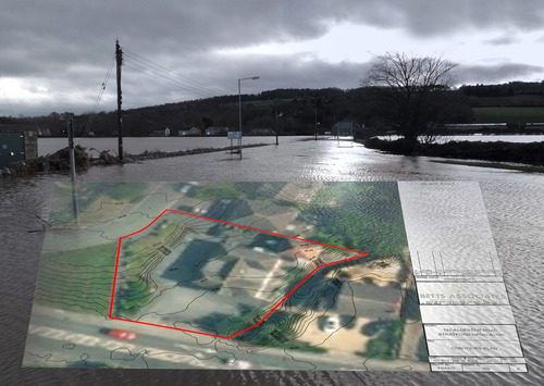 Bluesky's 3D aerial maps show flood risk
