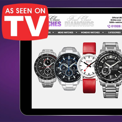 First Class Watches - As Seen On TV