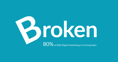 80% of B2B Digital Marketing is Broken