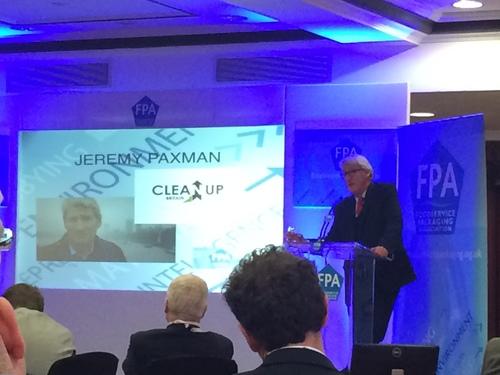 Jeremy Paxman at FPA Environment Seminar