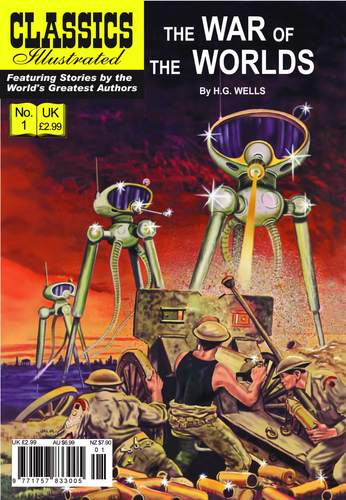 War of the Worlds front cover