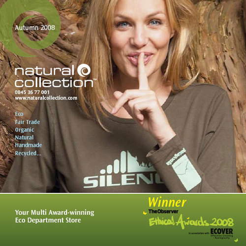 Natural Collection Autumn 2008 Cover