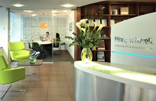 Morgan Lovell's Green Office