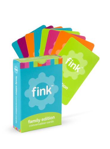 Fink™ Cards make family mealtime fun