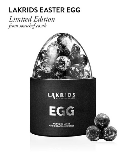 Lakrids Easter Egg from souschef.co.uk