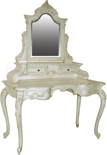 Chateau Dressing Table with Mirror