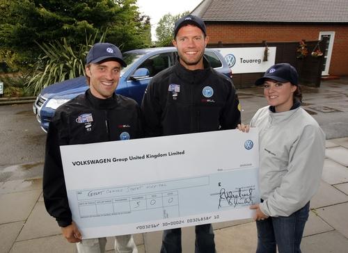 Volkswagen winners GBR Sailors