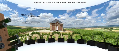 Moet Academy Virtual Reality Experience