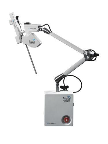 Robotic camera holder FreeHand