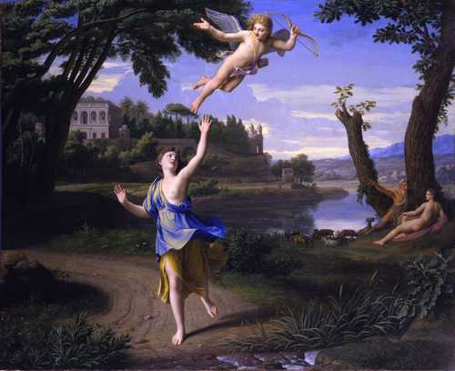 Cupid and Psyche by NICOLAS COLOMBEL