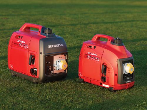 Two New Honda 110V Portable Generators