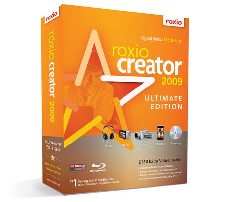 Roxio Creator 2009 Ultimate Edition