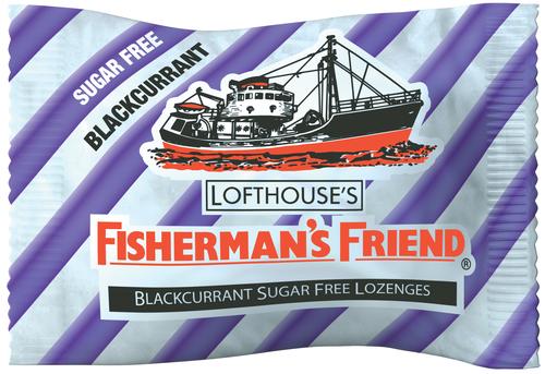 New Fisherman's Friend Blackcurrant