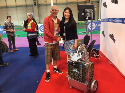 Jason Bradbury and Sumi Wang