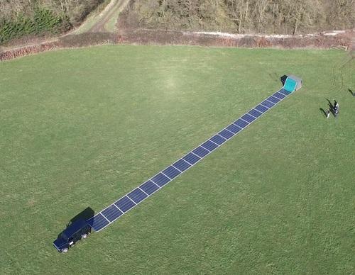 "Renovagen solar ""unrolls like a carpet"""