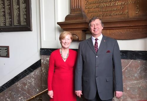 Hazel McCallum and Kevin Horlock