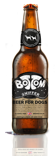 Bottoms up for a new Doggy beer
