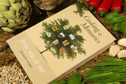 Cooking up memories journal