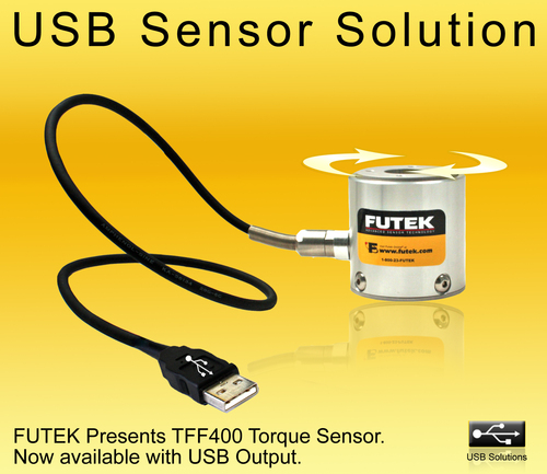 FUTEK's Reaction Torque Sensor with USB