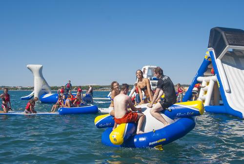 Aqua Park Rutland opens for 8 weeks