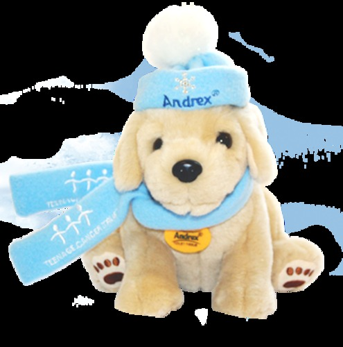 The Andrex limited edition Winter Puppy