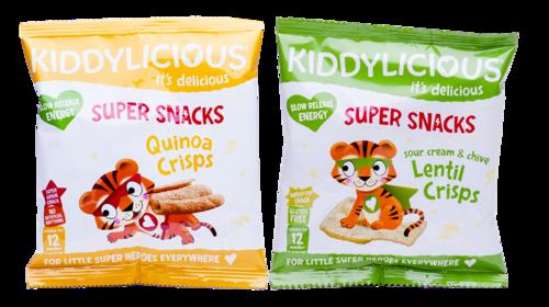 Quinoa Crisps and Lentil Crisps Cr