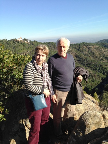Irma and Wine Maker Roy Cook