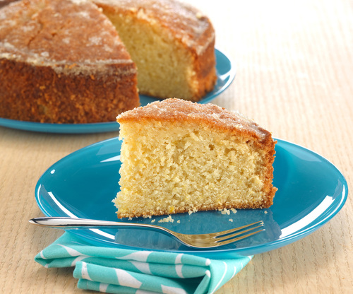 Oatly Lemon Drizzle Cake