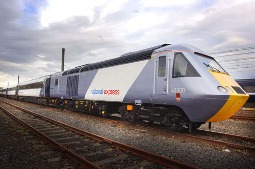 National Express Wi-Fi Enabled train