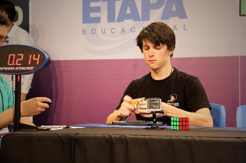 Rubik's Cube Champion Feliks Zemdegs