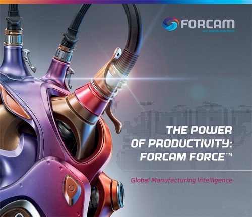 Forcam's new branding includes a new web site