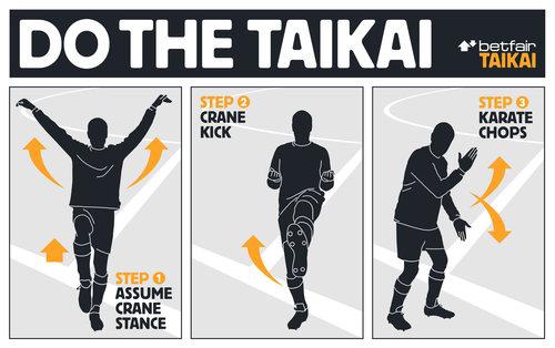 DO THE TAIKAI for a £10,000 goal bonus