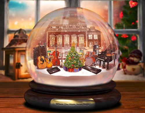Christmas at Yamaha Music London
