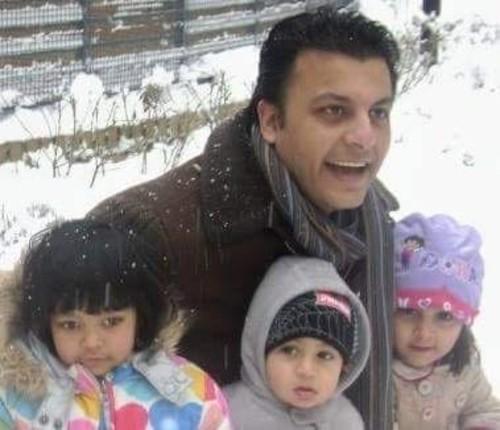 Fahad Malik and family