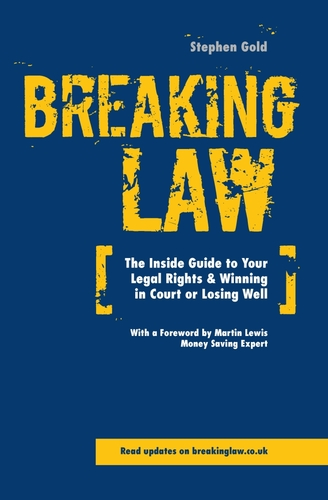 Front cover of Breaking Law