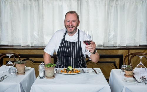 Neil Forbes of Cafe St Honore