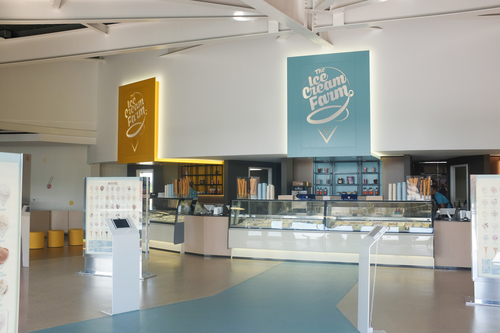 The World's Largest Ice Cream Shop
