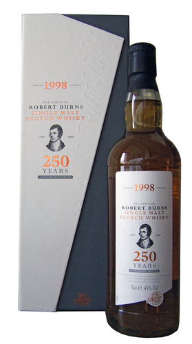 Isle of Arran Burns 250 Anniversary Malt