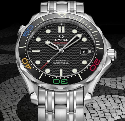 Rio 2016 Omega Seamaster Limited Edition