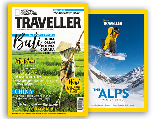 National Geographic Traveller Nov 2016