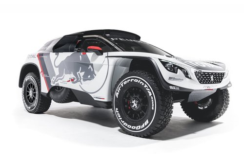 New Peugeot 3008 DKR