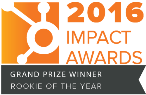 HubSpot 'Rookie of the Year' Award